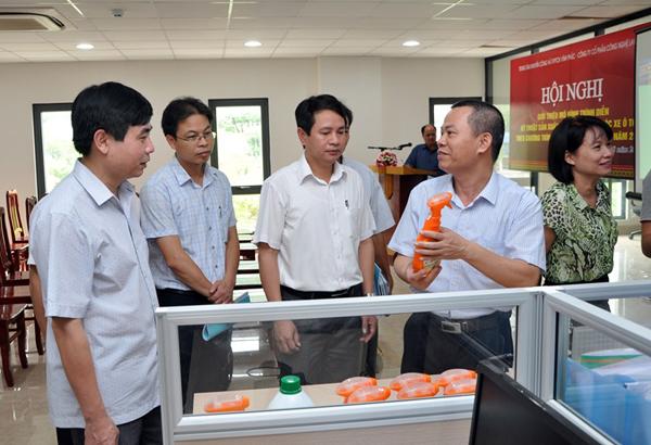 Hội nghị trình diễn kỹ thuật sản xuất Bộ sản phẩm chăm sóc xe ô tô Focar
