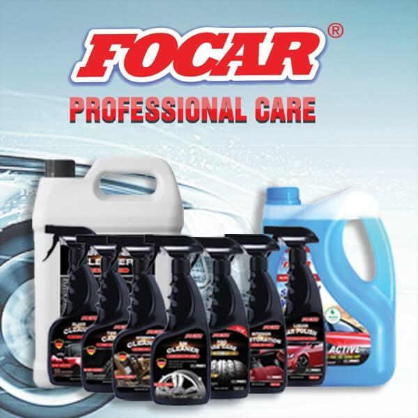 FOCAR – Bộ sản phẩm chăm sóc xe hơi chuyên nghiệp công nghệ Đức