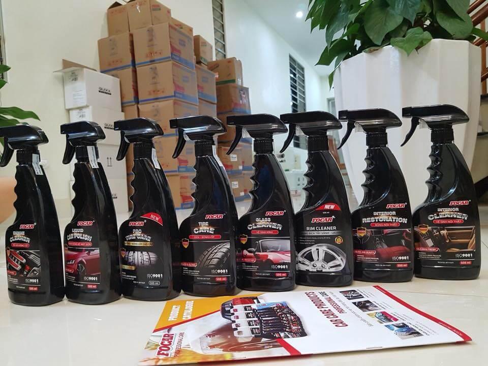 Tìm kiếm đại lý phân phối sản phẩm chăm sóc xe hơi FOCAR độc quyền