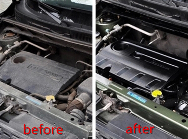 Hiệu quả khi sử dụng sản phẩm tẩy vệ sinh động cơ chuyên dụng
