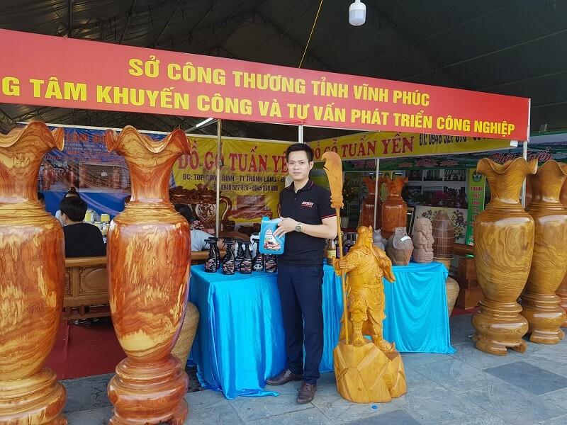 Sản phẩm FOCAR trong Hội chợ Công Thương khu vực Đồng bằng sông Hồng – Vĩnh Phúc 2018