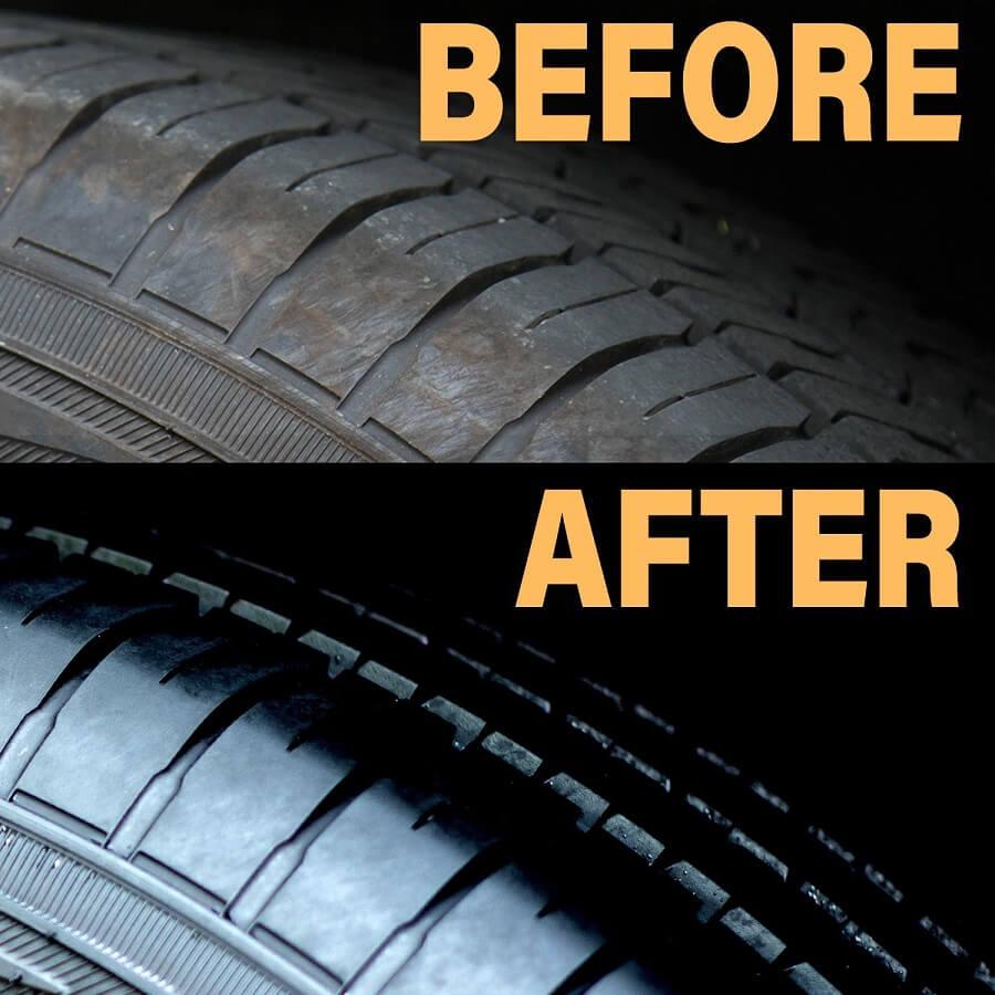 Bí quyết làm đen bóng lốp xe ô tô đơn giản, tăng tuổi thọ cho lốp