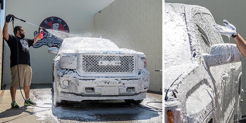 Địa chỉ bán bọt tuyết rửa xe tốt nhất