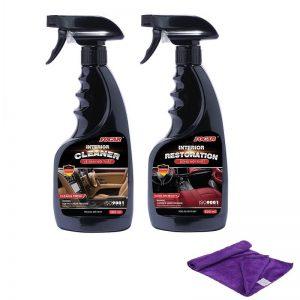 Bộ 3 sản phẩm chăm sóc nội thất xe hơi FOCAR