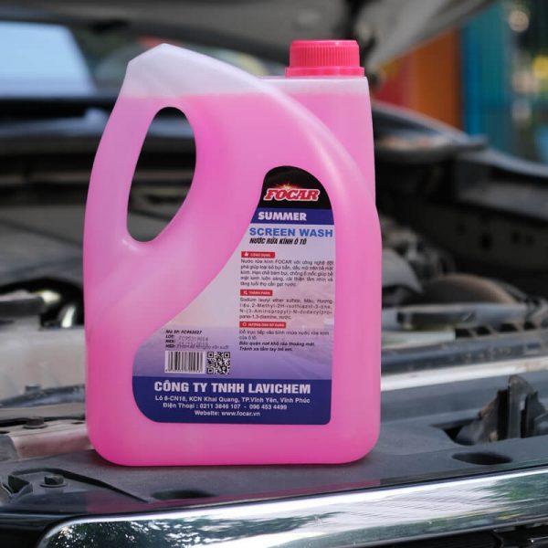 Nước rửa kính xe hơi Focar Summer